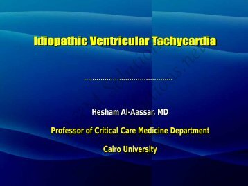 I. Outflow tract VT - cardioegypt2011