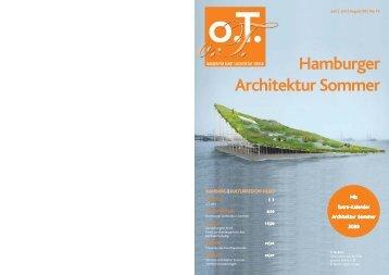 Hamburger - Das Magazin für Kunst, Architektur und Design