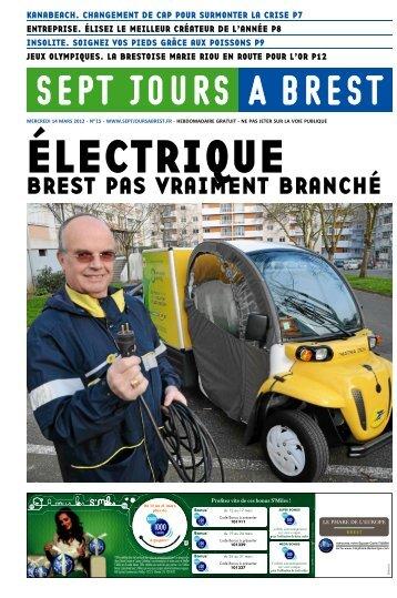 BREST PAS VRAIMENT BRANCHÉ - Sept jours à Brest