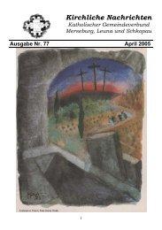 Ausgabe Nr. 77, April 2005 ( PDF -Datei, 303 kB) - Katholische ...
