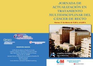 DIPTICO JORNADA CANCER DE COLON
