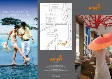 fall in love with the amari lifestyle - Amari Hotels and Resorts