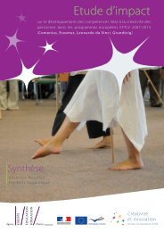 Synthèse - Agence Europe-Education-Formation France