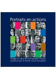 Portraits en actions - CRESS PACA