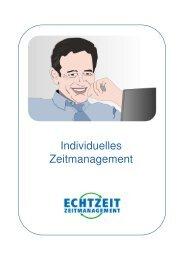 Broschüre PDF (8 Seiten) - ECHTZEIT ZEITMANAGEMENT