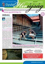 PDF dokumentum (5942 KByte) - Gyulai Hírlap