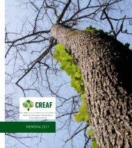 MEMÒRIA 2011 - CREAF - Universitat Autònoma de Barcelona