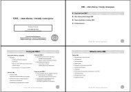 XML - Instytut Automatyki i Informatyki Stosowanej - Politechnika ...