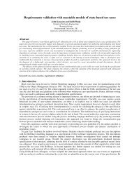 Requirements validation with enactable models of state-based use ...