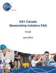GS1 Canada Stewardship Initiative FAQ