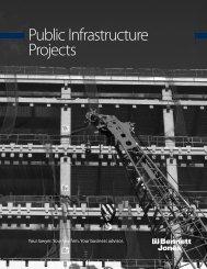 Public Infrastructure Projects Brochure - Bennett Jones