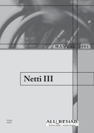 Netti III - ETAC docs