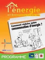 PROGRAMME - Conseil général du Morbihan