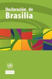 Declaración de Brasilia - Cepal