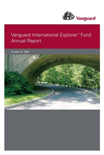 Vanguard International Explorer Fund Annual Report October 31 ...