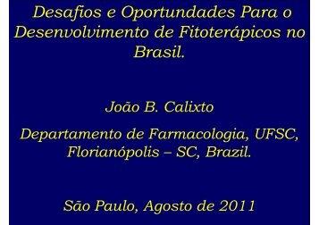 João Batista Calixto - IPD-Farma