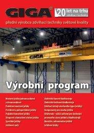 Výrobní program - Giga, s.r.o.