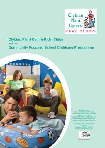 here - Clybiau Plant Cymru: Kid's Clubs