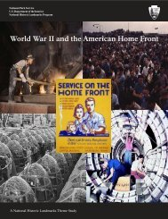 World War II and the American Home Front - National Park Service
