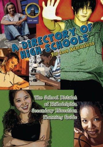 Citywide Admission High Schools - The School District of Philadelphia