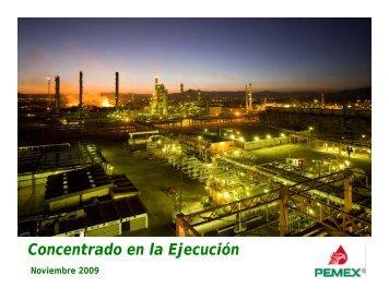 p - Relación con inversionistas - PEMEX.com