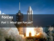 Forces - Science with Mr. Enns
