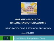 Rating Background and Technical Grounding presentation