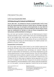 LED-Beleuchtung für Kuhstall und Melkstand - Dörfer/Partner