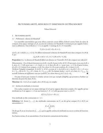 Notes PDF - ENS de Cachan - Antenne de Bretagne