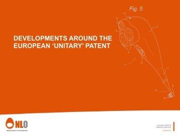 'unitary' patent - Nederlandsch Octrooibureau