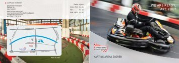 karting arena - letak final - Zagreb tourist info