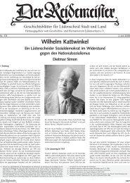 Wilhelm Kattwinkel - Geschichts- und Heimatvereins Lüdenscheid