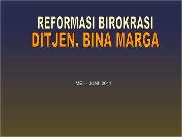 JUNI 2011 - Dirjen Bina Marga