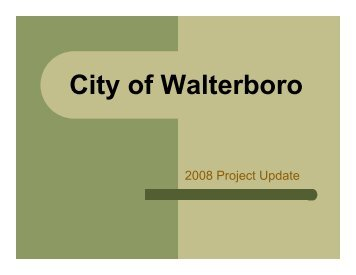 2008 Review - City of Walterboro