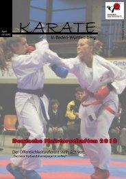 KVBW-Magazin 1001 - Bushido Oberkirch