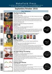 Flyer - Wakefield Press