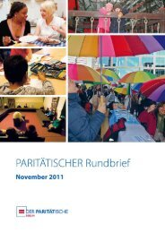 Unterschicht (Auszug) - Der Paritätische Berlin