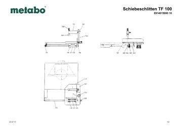 Schiebeschlitten TF 100 - Woodworking.de