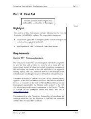 Part 11 First Aid Explanation April 2004 - Lifesaving Society