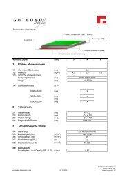 technisches Datenblatt de