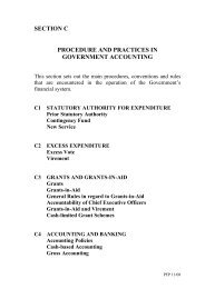 Section C – Procedures and Practices in Government Accounting