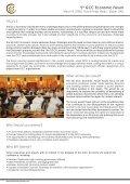 5th GCC EConomiC Forum اﻟﻤﻨﺘﺪى اﻹﻗﺘﺼﺎدي اﻟﺨﺎﻣﺲ ﻟﺪول ﻣﺠﻠﺲ اﻟﺘﻌﺎون ... - Page 3