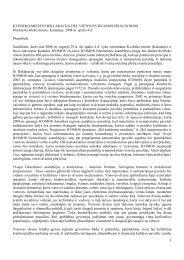 Kvebeko miesto deklaracija dėl vietovės dvasios išsaugojimo ...