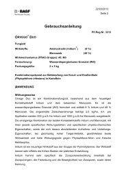 GA Orvego Duo - BASF Pflanzenschutz Österreich