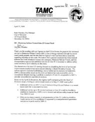 April 27, 2009 letter from Debra L. Hale to South County City ...