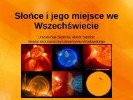 Obserwacje Słońca - Instytut Astronomiczny Uniwersytetu ...