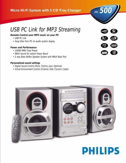 PHILIPS MC-M50037 MICRO HI-FI SYSTEM TREIBER WINDOWS 8