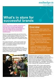 MEC RetailWhats in store for successful brands 2007
