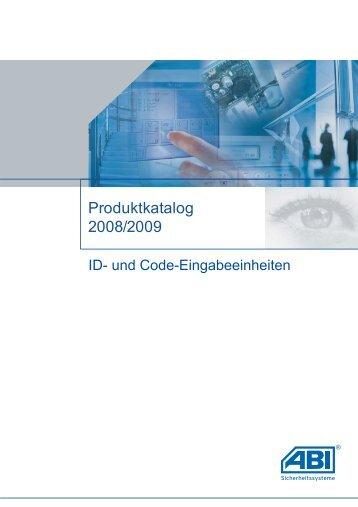 P-BUS-Eingabeeinheiten - ABI Sicherheitssysteme GmbH