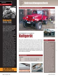Kultgerät - OFF ROAD :: Das 4x4 Magazin für die Freiheit auf Rädern
